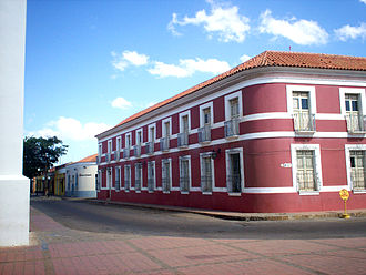 Coro, Venezuela - Casa de las 100 ventanas (House of the 100 windows), current headquarters of the Cultural Institute of the State Falcón.