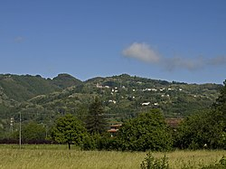 Panorama of the villages of Cascio, Ca'Matteo, and Ca'Serafino