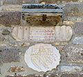 Castello di bodrum, torre d'italia, stemma giambattista orsini con iscrizione.JPG