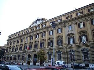 Italiano: Roma, Ministero delle Finanze a via ...