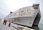 Catamaran arrives at Key West 140604-N-YB753-105.jpg