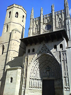 Church in Huesca, Spain