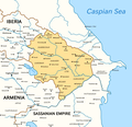 Caucasian Albania in 5th and 6th centurires.png