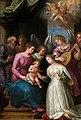 Cavalier d'Arpino (seguidor) - Desposorios místicos de Santa Catalina.jpg