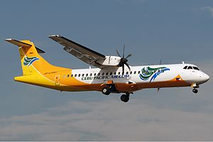 Cebu Pacific - One of Cebu Pacific's ATR 72-500 aircraft in 2011.