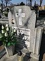 Cemetery of Saint Roch in Buk (Józef Kaczmarek, deth tragically 1958.jpg