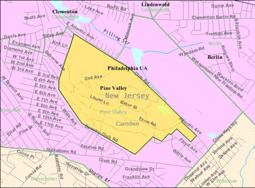 Pina Valo, Nov-Ĵerzejo - Wikipedia's Pine Valley, New ...