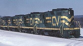 Central Vermont Railway - CV locomotives