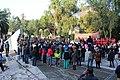 Ceremonia conmemorativa 30 años de los Sismos de 1985 Reloj de Sol, Tlatelolco. 02.JPG