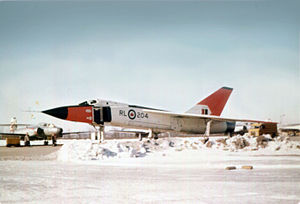 Avro Canada CF-105 Arrow - RL-204, late 1958