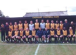 Cheshunt F.C. - The 2005–06 squad.