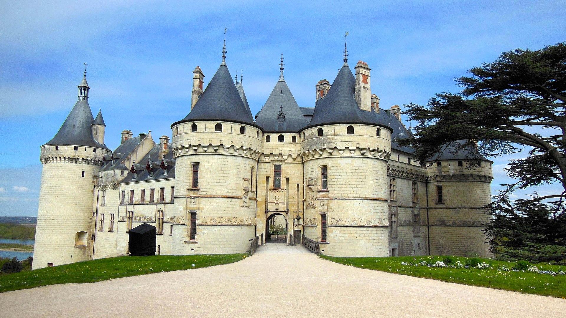Le château de Chaumont-sur-Loire.