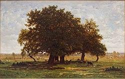 Théodore Rousseau: Les Chênes d'Apremont