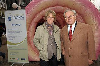 Hubert Burda - Christa Maar and Hubert Burda