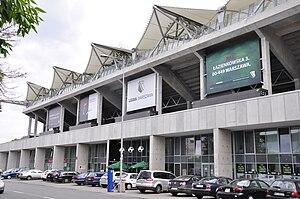 Polish Army Stadium - Northern stand as it seen form Łazienkowska street
