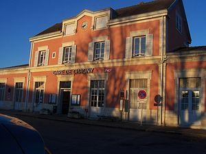 Chagny, Saône-et-Loire - Train station