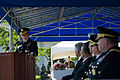Chairman of the Joint Chiefs of Staff U.S. Army Gen. Martin E. Dempsey, left, speaks during a change of command ceremony Oct. 2, 2013, in Seoul, South Korea 131002-D-KC128-476.jpg