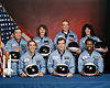 Crew photo of STS-51L