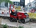 Chantier croisement rue de Rathsamhausen et route du Polygone.JPG