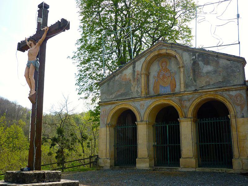 Notre-Dame des sept douleurs Chapel, Miramont de Comminges, France.