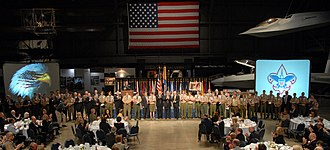 Distinguished Eagle Scout Award - A DESA ceremony in 2009