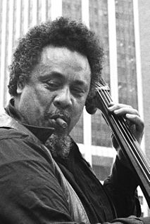 Charles Mingus American jazz double bassist, composer and bandleader