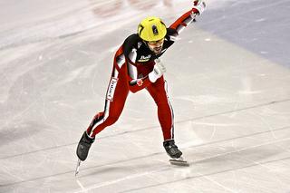 Charles Hamelin Canadian short-track speed skater