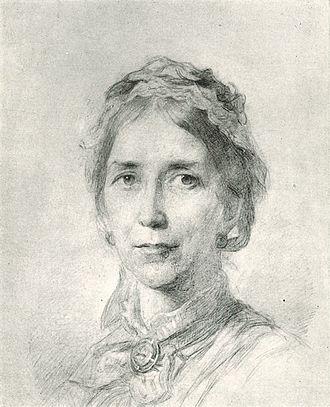 Charlotte Godley - Sketch of Charlotte Godley (1877)
