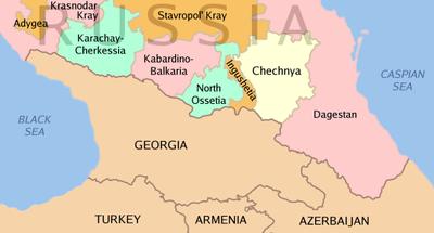 tsjetsjenia flagg