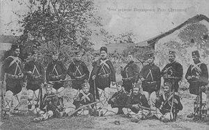 Rade Radivojević - Radivojević and his band.