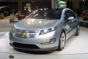 2011 Chevrolet Volt exhibited at the 2010 Wash...