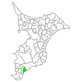 Wada, Chiba Former municipality in Kantō, Japan