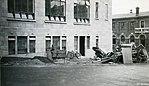 Chief Post Office Dunedin construction 1937 (23038762183).jpg