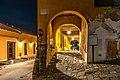 Chiesa di San Michele Arcangelo - Porticato esterno notte 5.jpg