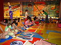 Children attending educational program, Thessaloniki Olympic Museum (26-05-2006).jpg