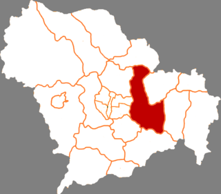 Gaocheng District District in Hebei, Peoples Republic of China