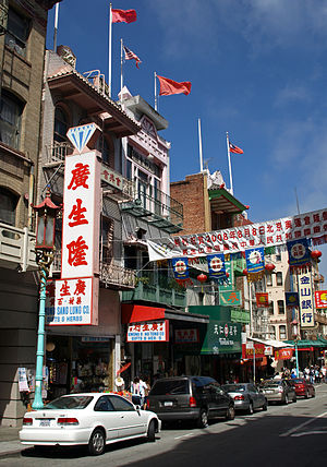 Chinatown, San Francisco, California (United S...