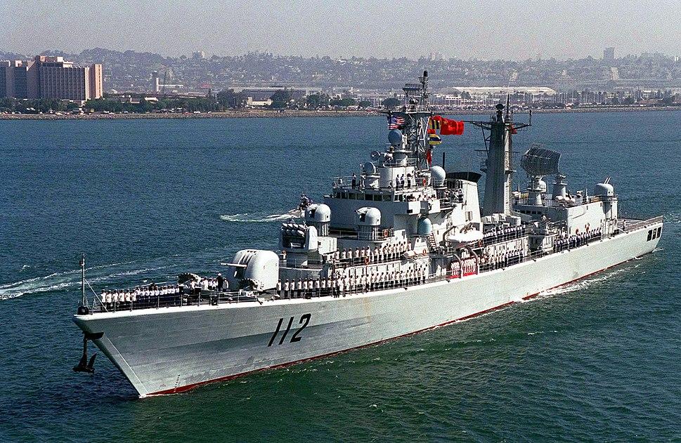 Chinese destroyer HARIBING (DDG 112)