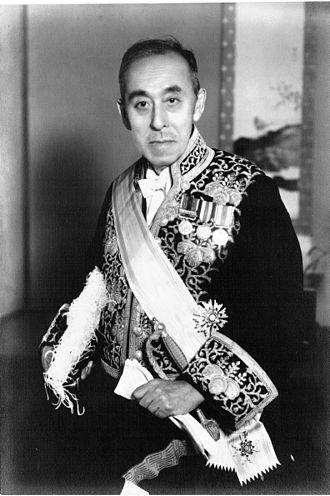 Chozaburo Kusumoto - Professor Kusumoto in court dress, c. 1943
