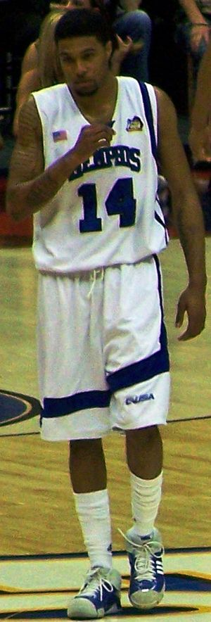 Chris Douglas-Roberts - Douglas-Roberts in the 2008 NCAA Tournament Final Four.