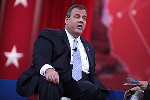 Chris Christie presidential campaign, 2016 - Chris Christie speaking at the Conservative Political Action Conference