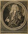Christian von Wolff. Line engraving by Daudet, 1731. Wellcome V0006352.jpg