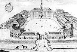 Christiansborgs slot i året 1761