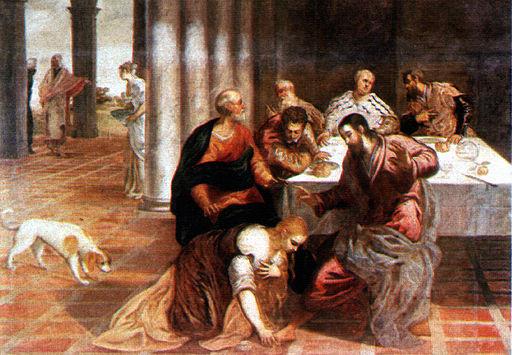 Christus im Hause des Pharisäers Jacopo Tintoretto