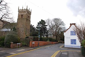 Old Clee - Image: Church Lane, Old Clee, Grimsby geograph.org.uk 741910
