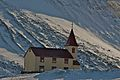 Church in Bolungarvik, Iceland (3475788300).jpg