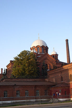 Kresty Prison - The prison church of St. Alexander Nevsky