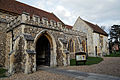 Church of the Holy Cross Felsted Essex England - porch from the southwest.jpg