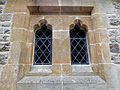 Church of the Holy Innocents, High Beach, Essex, England - Vestry windows.jpg