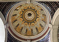 Cimitero dall'antella, arco monumentale dell'ingresso, cupola affrescata da galileo chini (1911) 01.JPG